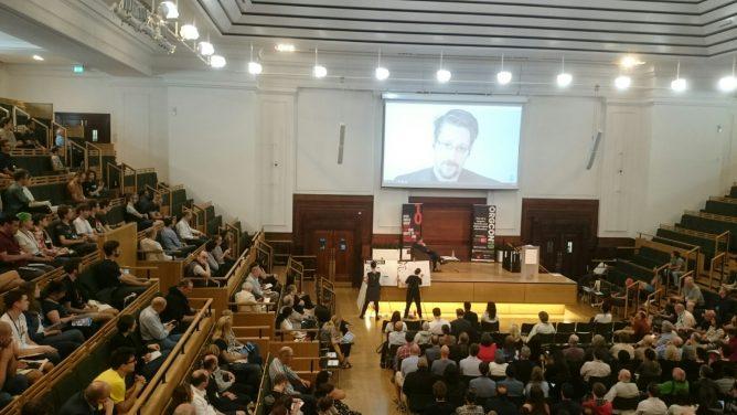 ORGCon 2019: Snowden